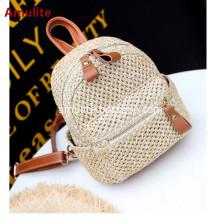Fashion women leisure beach bag straw woven bag