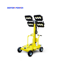 150W * 4 LED mobiler Lichtmast