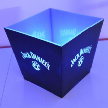 Clear Led Ice Bucket with Custmers' Logo