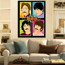 Beatles Music Poster