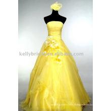 Mode robe de bal jaune robes de femmes enceintes