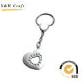 Special Design Heart Shape Metal Keyring (Y02226)
