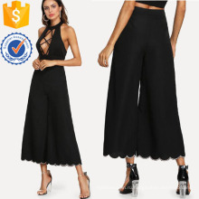 Гребешок Flare Подол брюки Производство Оптовая продажа женской одежды (TA3095P)