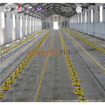 Construção de estrutura de aço leve