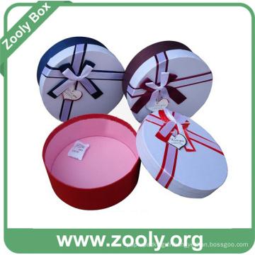 Boîte en carton décoratif en carton en carton avec couvercle (ZH001)