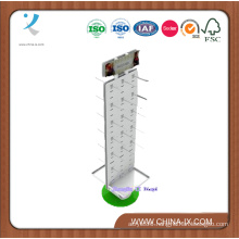Display Rack with MDF and Metal for Supermarkets or Home