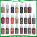 2015 getbetterlife venda quente 23 cores de tinta de 1/2 OZ sobrancelha, tinta de maquiagem permanente de sobrancelhas, maquiagem definitiva tinta pigmento conjunto