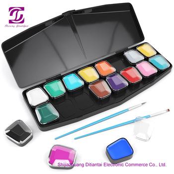 Face Paint 16 Colors Set