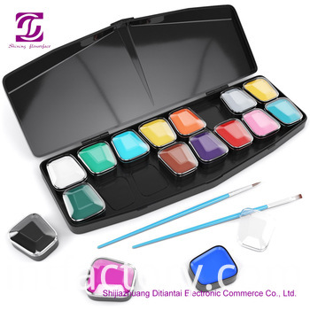 Face Paint 16 Colors Set