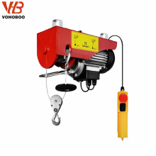China Manufacturer PA Wire Rope mini electric hoist