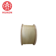 Alambre de bobina de fibra de vidrio doble de cobre resistente