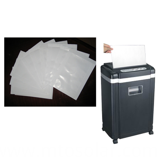 paper shredder oilpaper