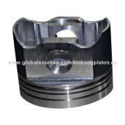 High-quality Piston for Air compressor, Spherical Graphite Cast Iron Craft