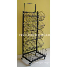5 Tier Slanted Storage Rack (PHY502)