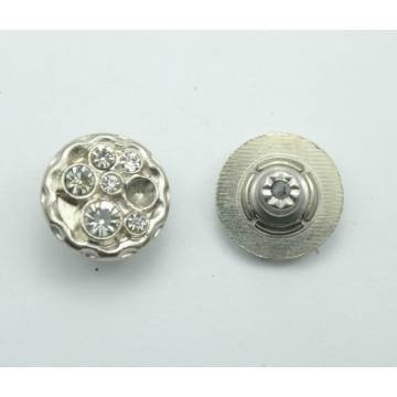 Good quality and cool logo embossed alloy button for uniform