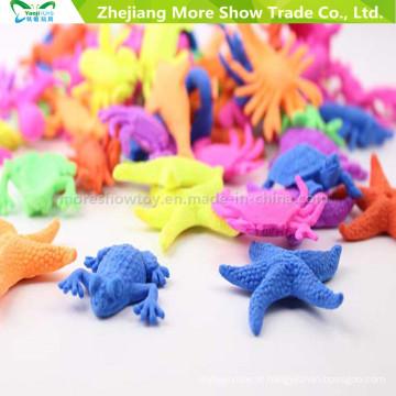 Hot Moda Animais Marinhos Crescer Brinquedos Starfish Fish Tortoise Ocean Animais Crescer Brinquedos