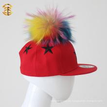 De Buena Calidad Moda 100% Algodón Snapback Cap Star para los niños