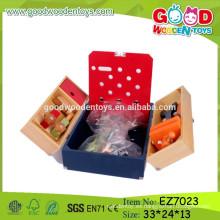 OEM y ODM Niños Caja de herramientas Juguetes, Moda Caja de madera de juguete de herramientas, Caja de juguetes de herramientas educativas