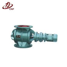Válvula de bloqueo de aire rotativa industrial para descargar el material a granel