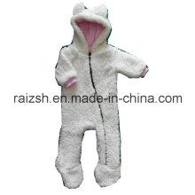 Thick Sherpa Hooded Swaddle for Baby