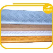 Alibaba Guinea barato Abaya Kaftan Brocade algodón tela de una pieza niñas vestidos de fiesta