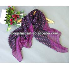 2013 neueste Polyester Yoryu gedruckten Punkt Schal