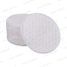 Embossed pure cotton puffs Round shape service