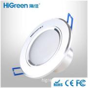 4W  White light LED Adjustable Downlights