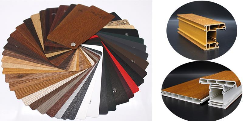 laminated pvc profiles