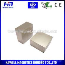 large block neodymium permanent magnet for wind turbine, alternative energy generators