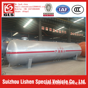 New horizontal lpg storage tank