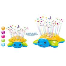 Engraçado piscando b / o tartaruga universal com projetor e música (10219311)