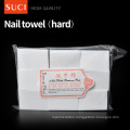 nonwoven round polish remover wet wipes/tissues/Feminine Disposable nail wipes