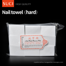 nonwoven round polish remover wet wipes/tissues/Feminine Disposable nail wipes