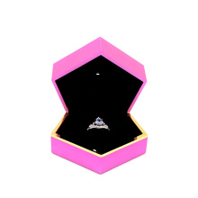 Custom logo printed jewelry boxes exquisite ring box boxes for jewelry packing