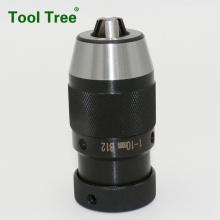 Taper fitting keyless drill chuck B12 drill chuck
