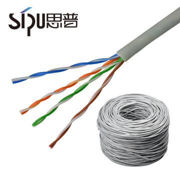 SIPU meilleur prix haute qualité cuivre UTP FTP SFTP ethernet cat5e cat6 réseau de données réseau
