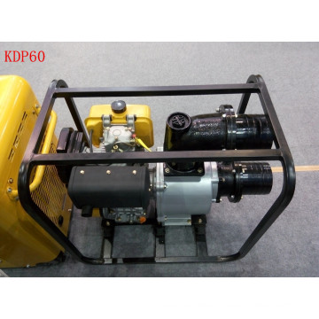 6 Inch Single Stage Centrifugal Recoil Start Diesel Water Pump for Irrigation Use (KDP60HC)
