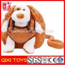 Mochilas de cão de pelúcia bebê animal pelúcia fofa