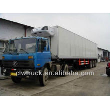 Low Price 75m3 semi-trailer refrigerated van for sale