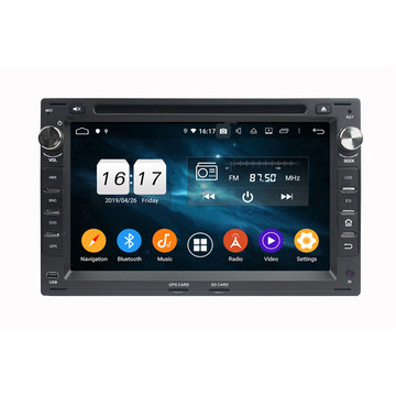 Android 9.0 Autoradio για το Passat Polo Jetta