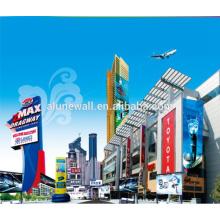Alunewall Exterior Building Decoration letrero publicitario de aluminio alucobond ACP