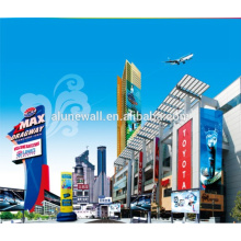 Alunewall Exterior Building Decoration aluminum advertising signboard alucobond ACP