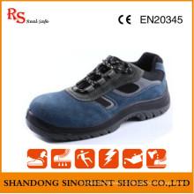 Blaue Stahl Hammer Sicherheit Schuhe RS527