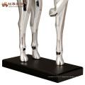 Figurine animale en résine résumé cheval statue décoration artisanat