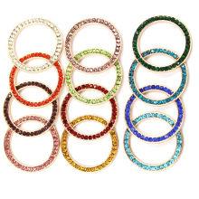 Pendentifs en cristal à bijoux ronds Rainbow Hollow