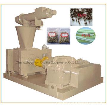 Composto fertilizante granular compactador/sedimento moinho