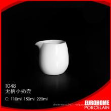 fournitures de bureau Chine shopping en ligne fine nouveau pot à lait porcelaine