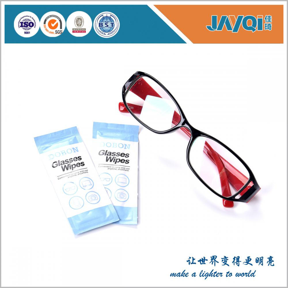 Easy Carry Glasses Wet Wipes for Promotional