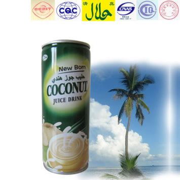 cocos nucifera juice HALAL certificate juice